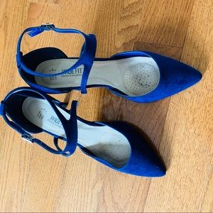 Atmosphere Widefit with Extra Comfort Blue Heels